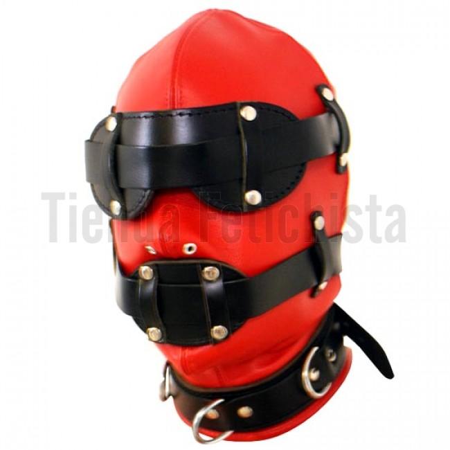 Mascara aislamiento roja