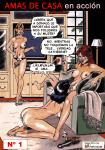 Amas de Casa en Acción- Cómic BDSM